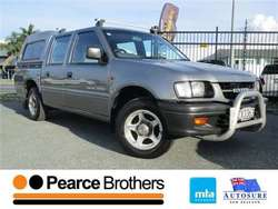 Holden Rodeo 4X2 2.8L DSL LX CREW WS 2001 & holden rodeo
